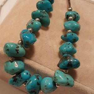 Jewelry - Sterling turquoise necklace & bracelet